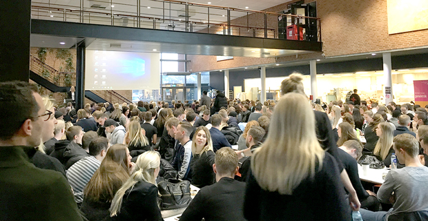 161125_620x320 Studenter från Campus Varberg deltar vid Experts in teams  | Nyheter